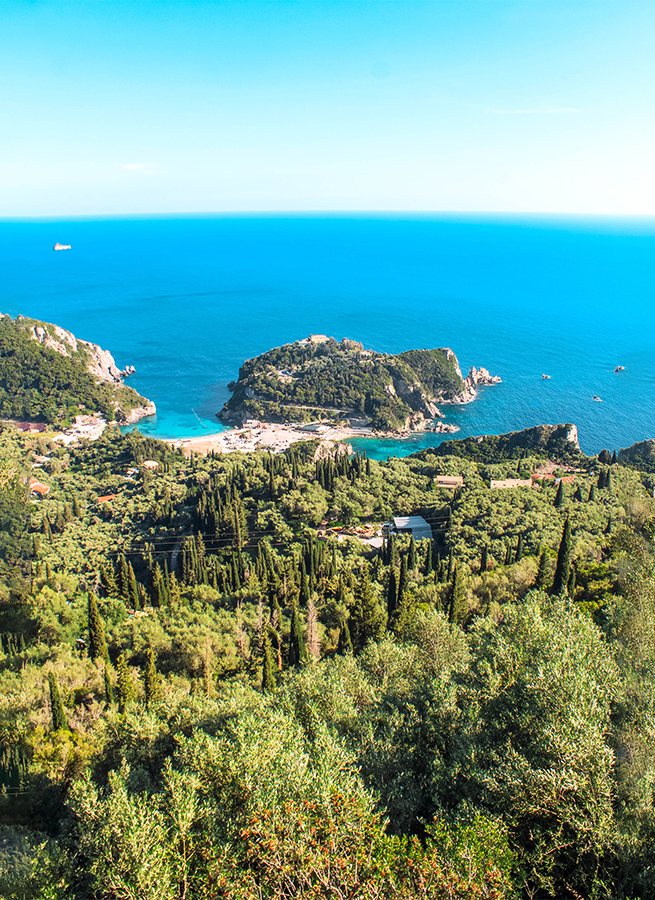 corfu places to stay