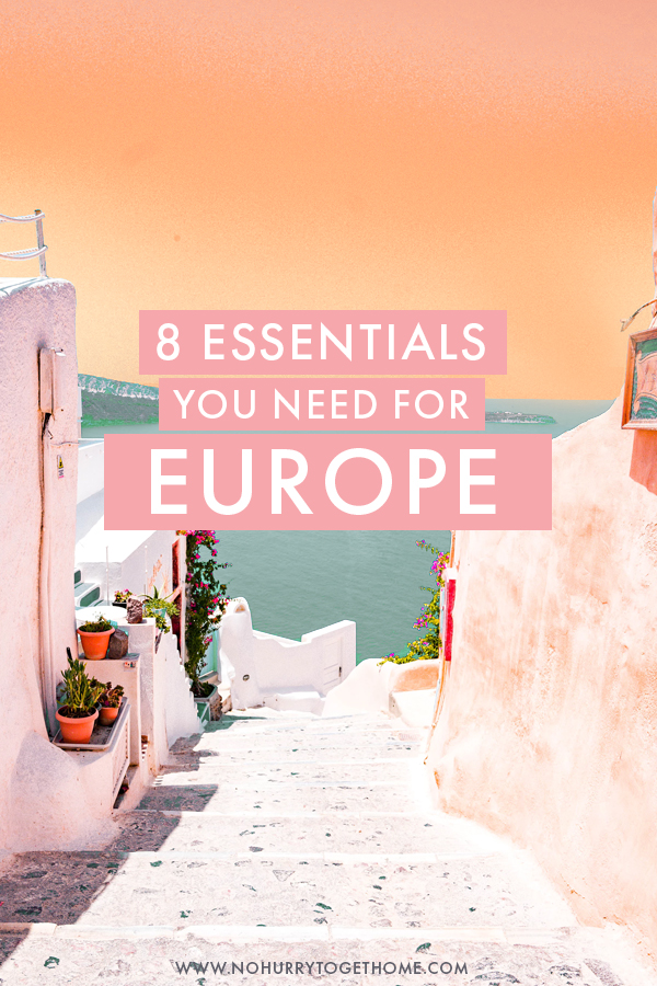 The ultimate packing list for summer in Europe, with the eight essentials you need to pack to hack your way through Europe