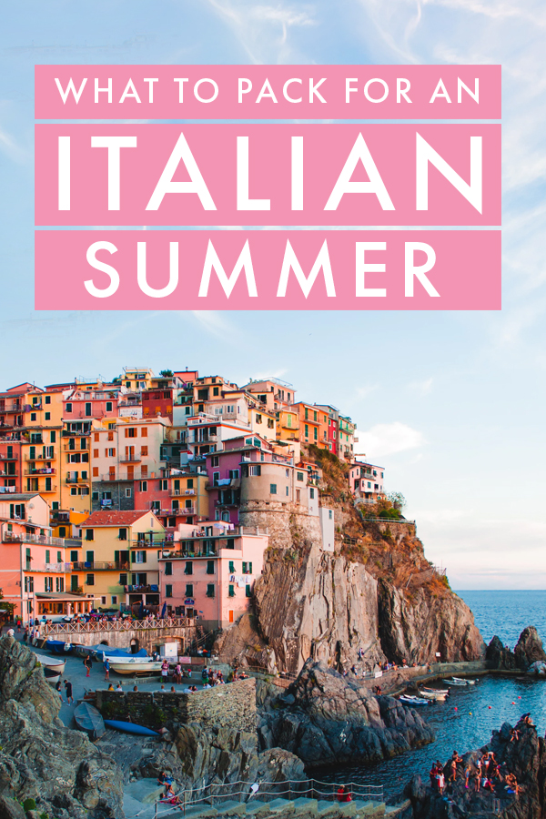 Visiting Italy this summer? No matter the destination, there are a few essentials you'll need to pack, so I've put together the ultimate packing guide for a summer in Italy!