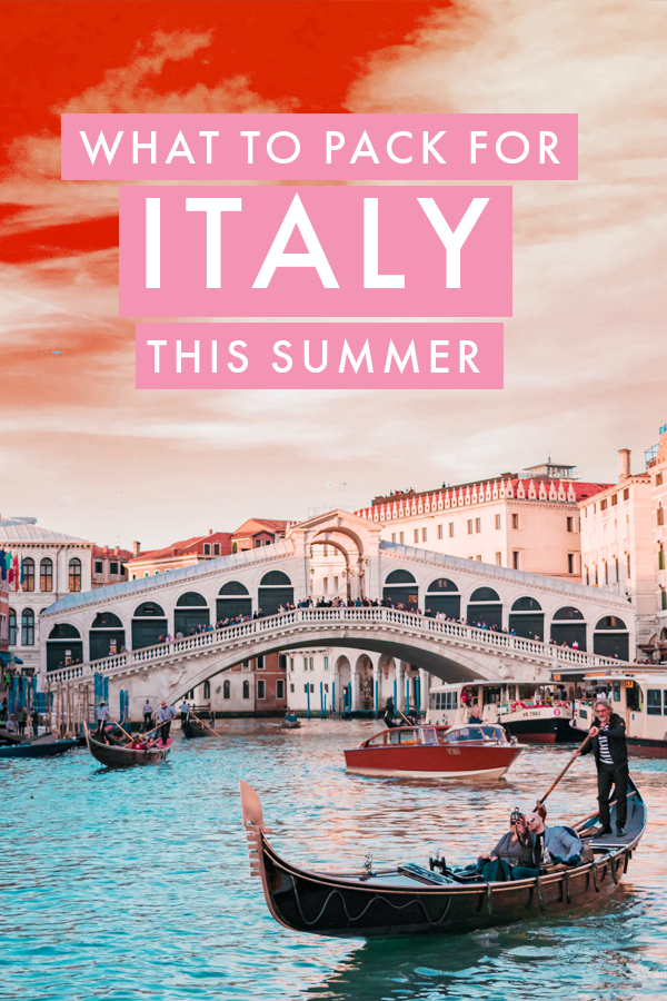 Backpacking or road tripping Italy this summer? Whether you're visiting Rome, Burano, or any Italian beach, there are a few essentials you should bring along. I've put together the ultimate packing list for the perfect summer in Italy so you can focus on planning your itinerary!