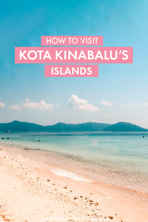 Looking for the best day trip and things to do in Kota Kinabalu, Malaysia? When you're traveling or backpacking Borneo, make sure to include at least a day of island-hopping in Kota Kinabalu's National Park: Tunku Abdul Rahman Marine Park