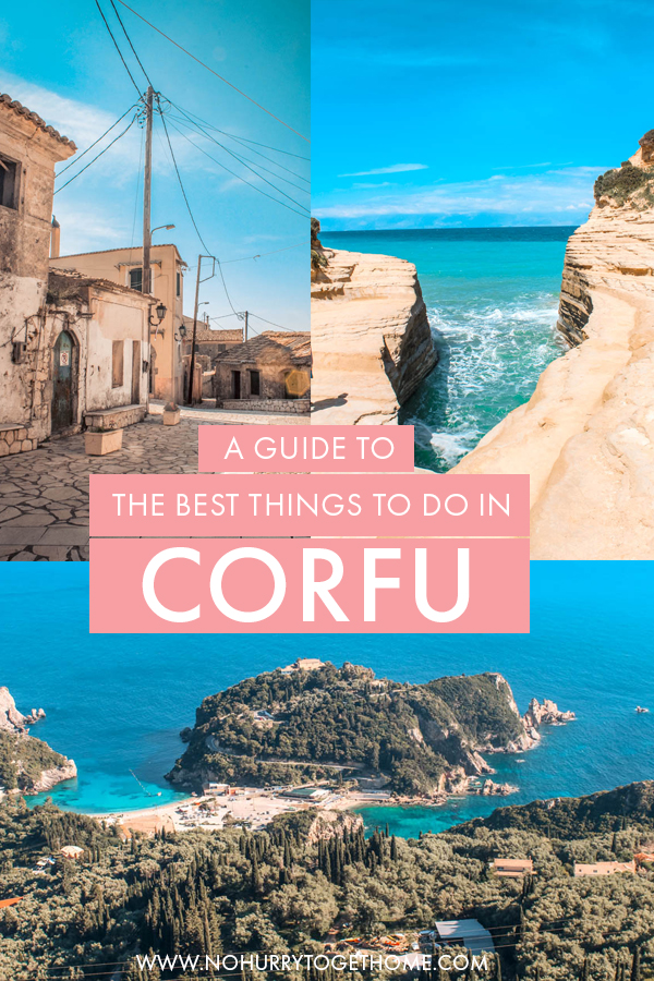 Planning your Corfu itinerary and wondering what sights and places to add to the list? In this blog post, I share the absolute best things to do in Corfu, including the eight most stunning spots on the island, the best beaches, and the top attractions to see in Corfu!
