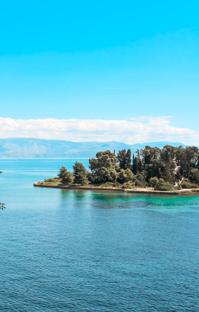 Mouse Island is one of Corfu's most mythological spots.