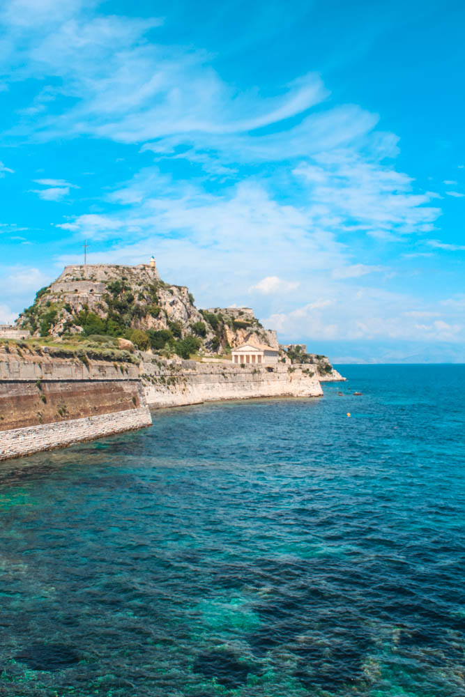 Wandering through Corfu Town is one of the best activities to do in Corfu, Greece
