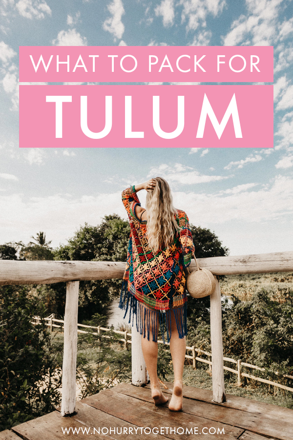 Sharing the ultimate packing guide for Tulum and the Riviera Maya (Yucatan peninsula in Mexico), including tips on what to pack for women and what to leave behind!