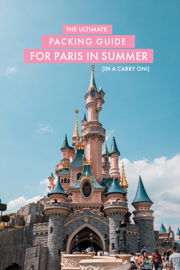 Visiting Paris in the summer and looking for the ultimate Paris packing guide? Here's everything you'll need to pack for the perfect summer in Paris. To make things even sweeter, this Paris packing list fits in a carry on!