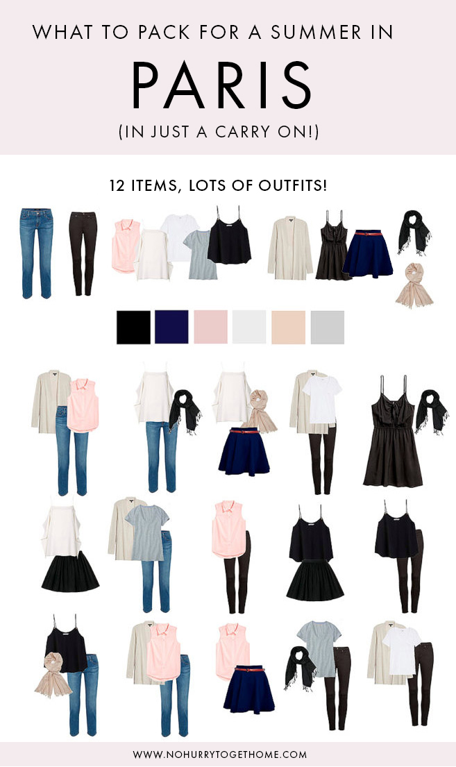Visiting Paris this summer and wondering what to pack? Deciding what to wear in Paris can be tricky, especially if you want to keep it carry-on only. I've putt together the ultimate minimalist Paris packing list for summer that has you covered! #capsulewardrobe