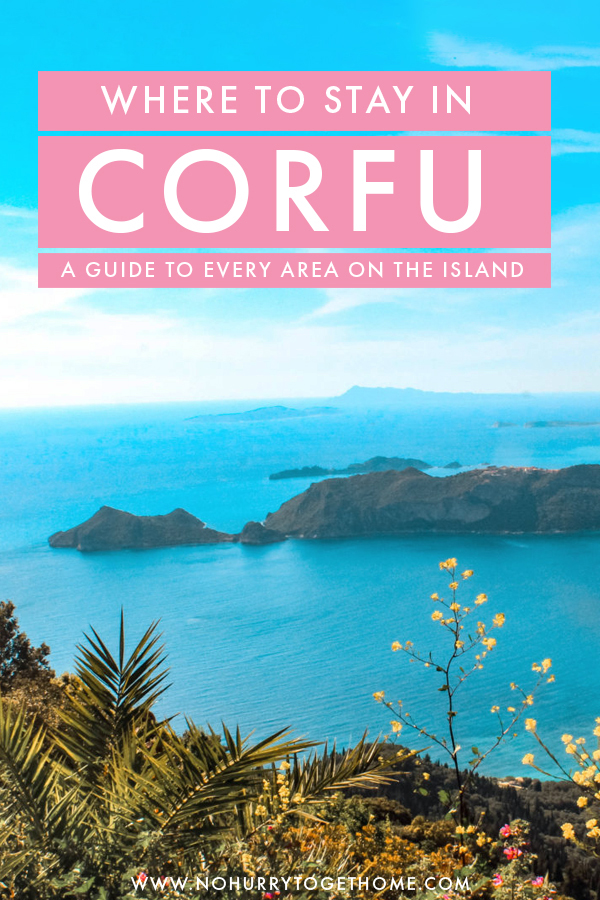 Looking for the best places to stay in Corfu? There are so many villages and small towns in this island, so knowing where to stay is important! Here's the ultimate guide to the best areas in Corfu, Greece, including hotel recommendations for any budget