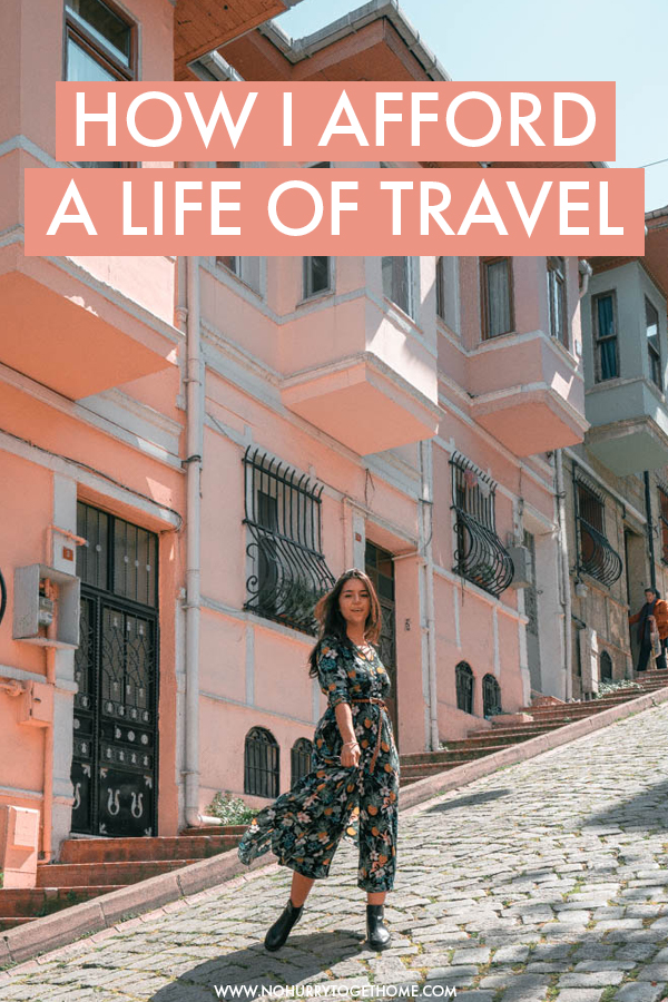 Wondering how travel bloggers afford to travel? In this post, I share all the things I do to make money while traveling, including how I make money from my travel blog and how I started freelancing in order to make enough money to travel the world for years.