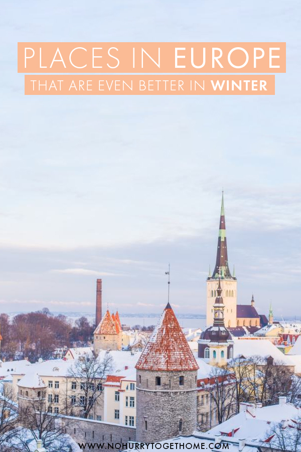 Planning a holiday in Europe in winter? Here are some places, towns, and destinations in Europe that are better in winter! From fairytale castles to the northern lights, there are the places that need to be in your winter in Europe itinerary! #Europe #Winter