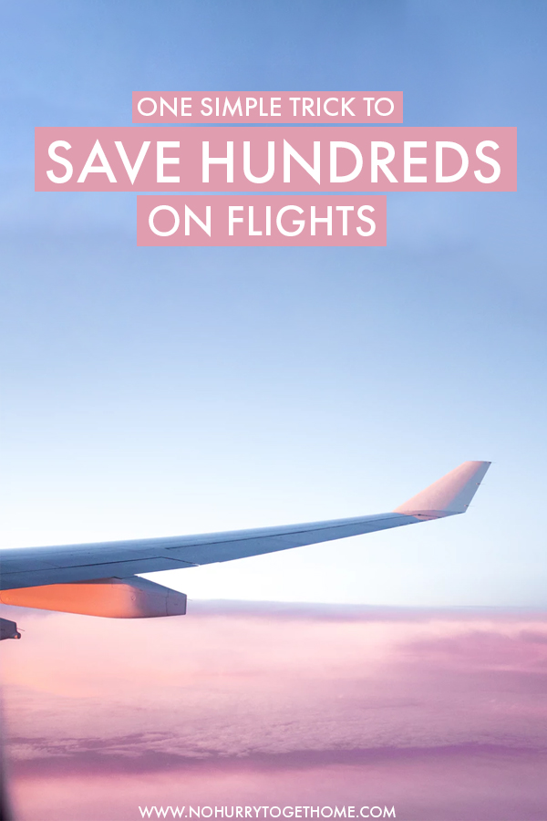 Looking for the best hacks to find cheap flights online? This trick to find cheap airfare has been tried and tested for years by yours truly, here's how!