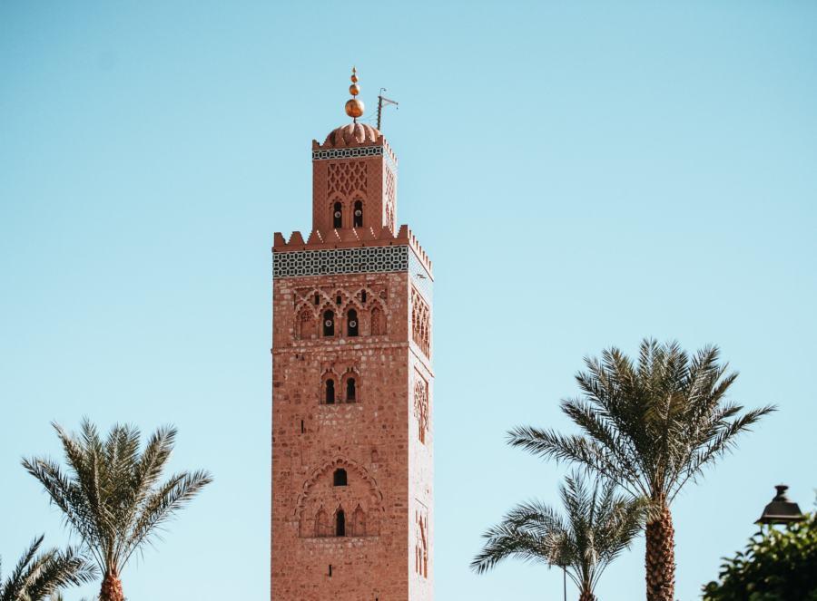 Koutoubia Mosque in Marrakech