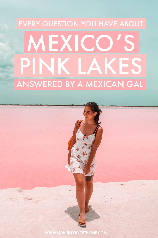 Wondering how to plan a visit to Las Coloradas, Mexico's famous pink lakes? Las Coloradas have become one of Mexico's most famous photo spots, but visiting them can get tricky, so I decided to put together the ultimate travel guide to the pink lagoons of Mexico in which I answer every question you possibly have! #Mexico