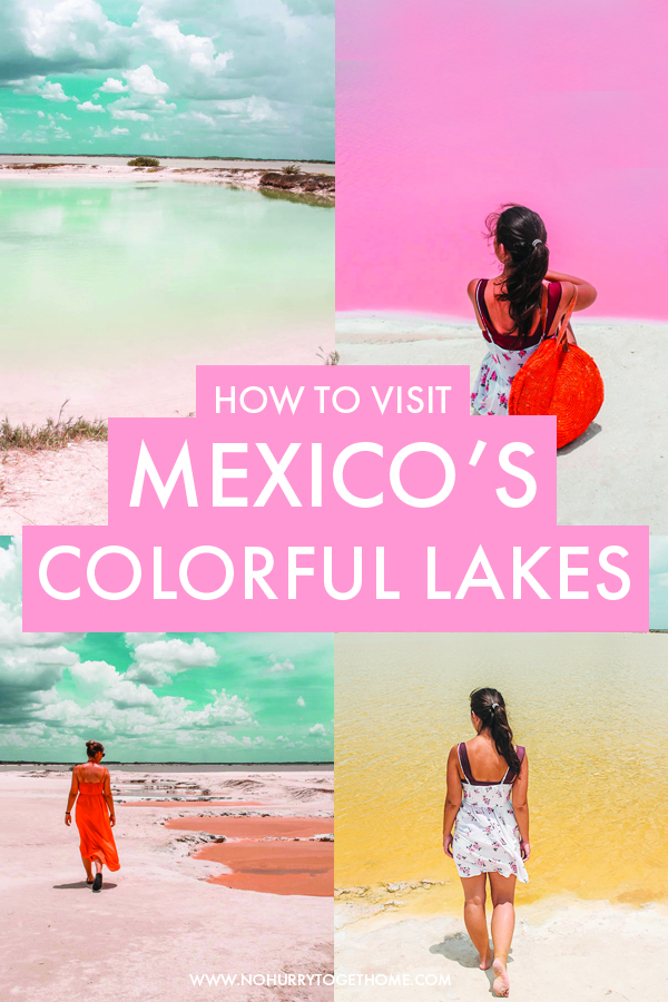 Wondering how to visit Las Coloradas in Mexico? On this post, I share everything you need to know to plan the perfect trip to Mexico's pink lakes, including how to get to see some other cool lakes in the area that are all sorts of colors!