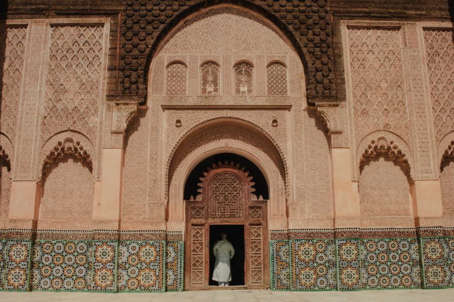 Ben Youssef Madrasa, a top attraction in Marrakech