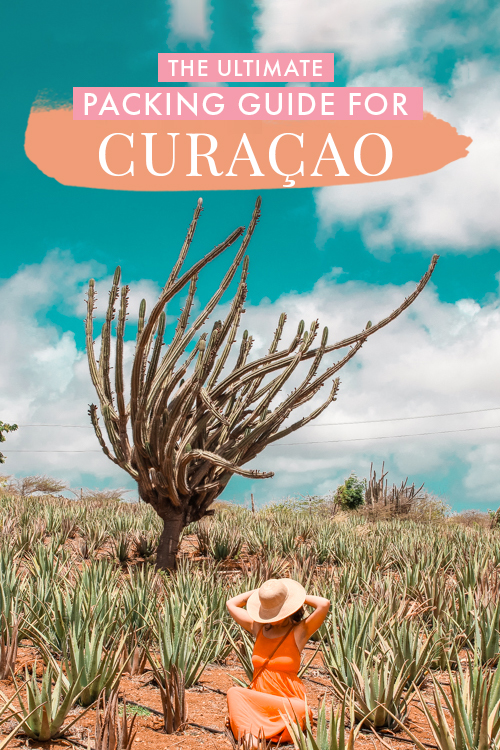 Wondering what to pack for Curacao? On this packing guide, I share everything I packed, including outfit ideas, visa tips, and useful essentials to pack for Curacao! #Curacao #Caribbean