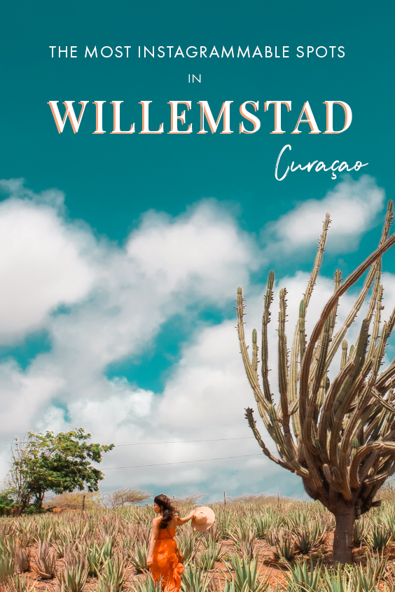 Wondering where to find the most instagrammable spots in Curacao? The capital, Willemstad, is a great place to start your photography itinerary in the island! From colorful buildings to fields of aloe vera, these are most insta-worthy spots in Willemstad you need to check out if you love photography! #Willemstad #Curacao #Caribbean