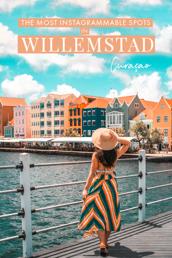 Traveling to Willemstad, Curacao soon and wondering where to find the most colorful and instagrammable spots? In this travel guide to Willemstad, I share all my favorite Instagram spots in downtown Willemstad, including a few of the most colorful buildings as well as hotels, aloe vera plantations, and other places in Curacao you absolutely must photograph! #Caribbean #Curacao #Willemstad
