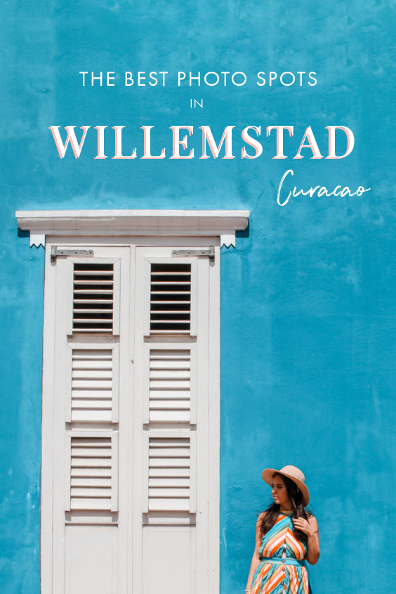 Looking for the most colorful photography spots in Willemstad, Curacao? From colorful houses to picture perfect coffee shops and quirky wall art, these are the absolute best photo spots in Willemstad that need to be on every photographer's itinerary! #Willemstad #Curacao #Caribbean