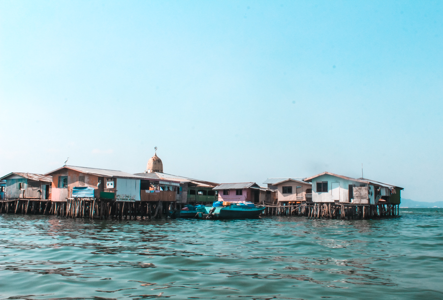 Stilts villages are an important part of life in Kota Kinabalu