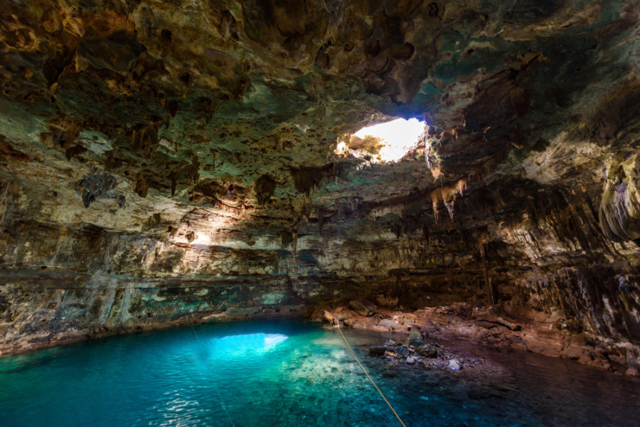 Cenote Samula in Dzinup, one of the best cenotes in Valladolid
