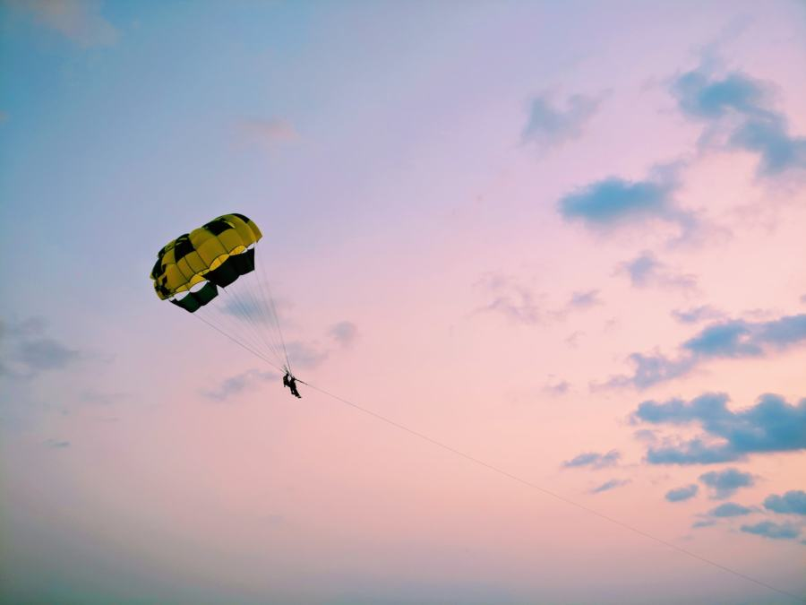Paragliding in Sedgefield is a great day trip from Knysna