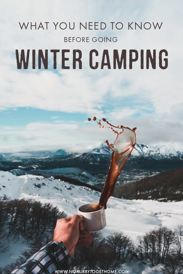 Planning to go camping in the winter? Even though knowing the basics of camping helps, there are several things you need to know an prepare for when camping in cold weather destinations. From what to wear, to the best winter camping tents and sleeping bags, here is everything you need to know and prepare before going winter camping! #Camping #Outdoors