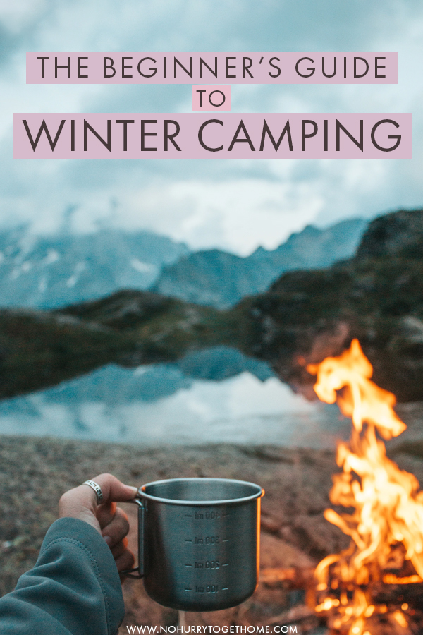 Going winter camping for the first time? Camping in the cold isn't that hard if you come prepared for the challenges of winter camping. If you're a beginner at winter camping, here are my top tips on what to bring, gear to pack, food essentials, and more to have a blast on your first winter camping outdoor adventure! #Camping