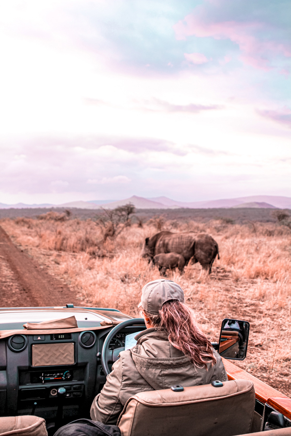 Game Reserves in KZN South Africa - Rhino River Lodge Review - Game Drives