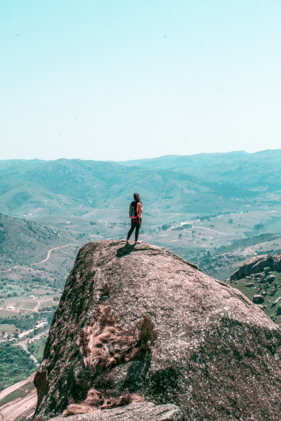 What to do in Swaziland? A hike to the top of Sibebe Rock is a must!