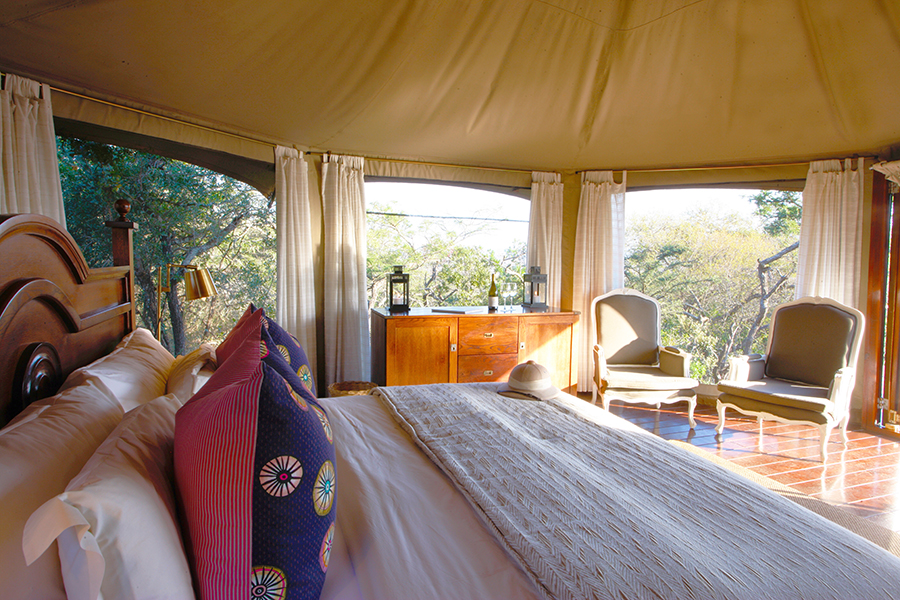 Tented Camp at Thanda Safari room