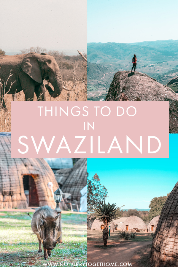 Visiting Swaziland and wondering what to do? This gem of a country in southern may be small, but it makes up for size with incredible landscapes and things to do. On this guide, I share what to do in Swaziland, including fun activities, safaris, adventures, and relaxing things to do as well! Moreover, I wrote everything you need to know to make the most out of your Swaziland itinerary, indulging where to stay, how to get around, and more! #Swaziland #Africa