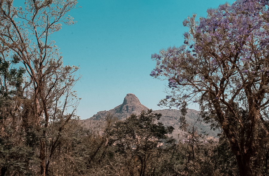 Execution Rock in Swaziland, one of the most impressive landmarks in the country
