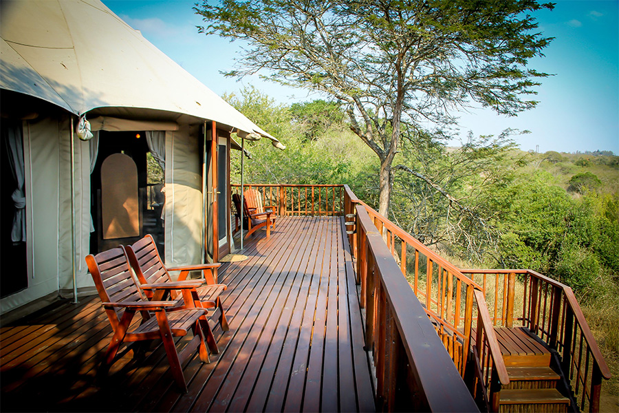 The game lodge at Thula Thula Private Game Reserve is a dream!
