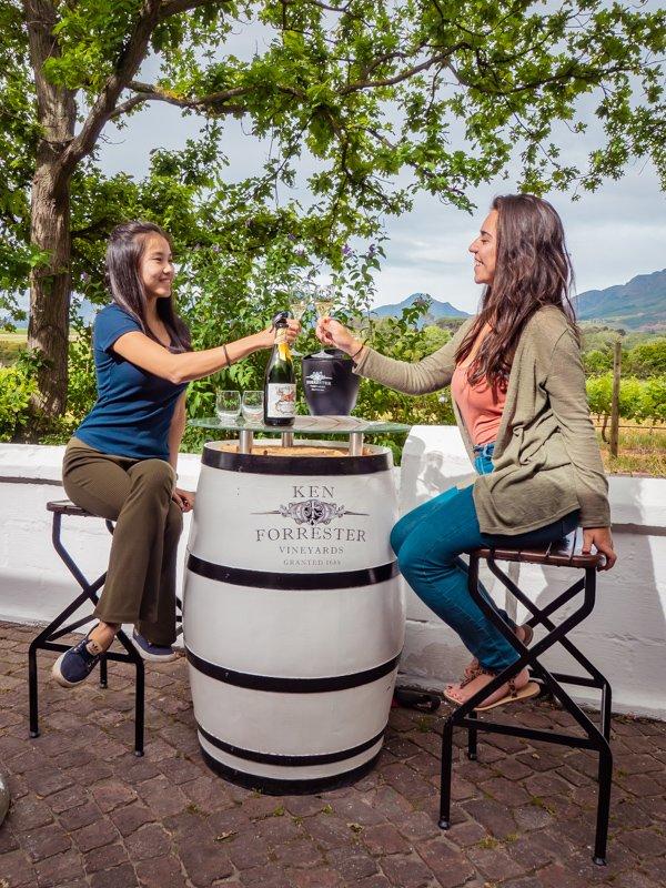 Ken Forresters is one of the best wine farms in Stellenbosch