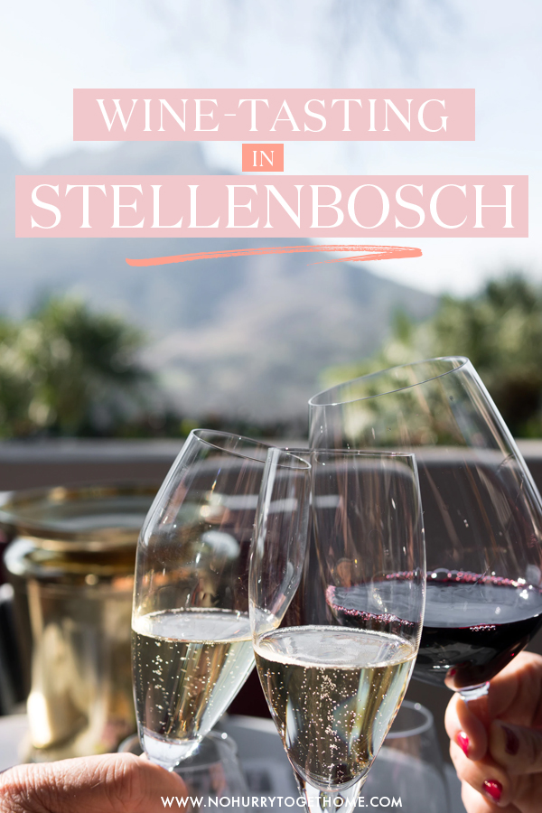Wine tasting is one of the best things to do in Stellenbosch, so I decided to put together the ultimate guide to visiting and drinking wine in Stellenbosch, South Africa. From things to do, to the best Stellenbosch wine farms and more, here's everything you need to plan your Stellenbosch itinerary. #SouthAfrica #Stellenbosch