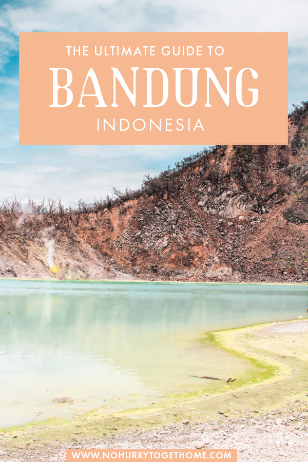 Want to travel Bandung but have no idea where to start? If you're planning a trip to Bandung, this travel guide covers everything you need to know for travel in Bandung! From the most amazing things to do, to where to stay, how to get there, and the top attractions, here's everything you need to know about Bandung, one of the most exciting destinations in Java, Indonesia for nature lovers! #Bandung #Java #Indonesia