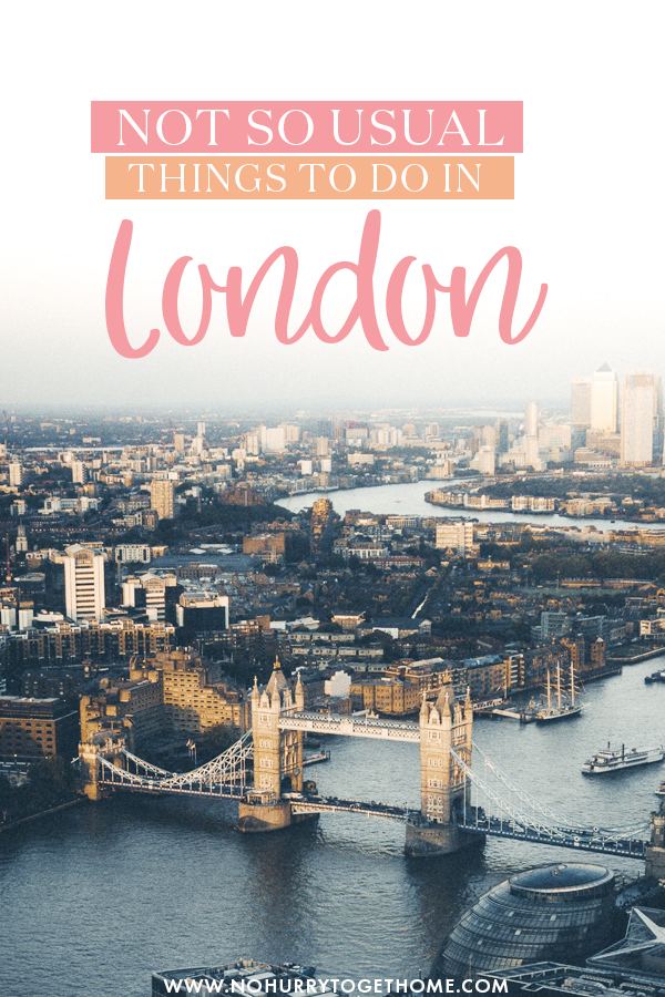 Wondering what to do in London? If you prefer hidden gems and not so touristic attractions, you'll love this list of the most amazing things to do in London including hidden gems, fun activities, and secret attractions in London, England! #London #England
