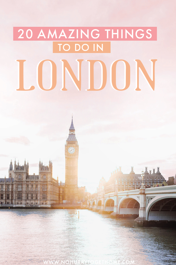 Visiting London soon and planning your itinerary? London has so many attractions, activities, and amazing things to do, so making it all fit into one short itinerary isn't exactly an easy thing to do! We've rounded up some of our favorite attractions, hidden gems, and things to do in London! #London #England