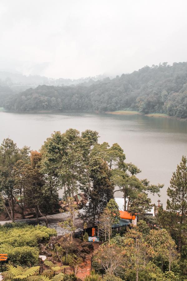 Lake Patenggang in Ciwidey, Bandung