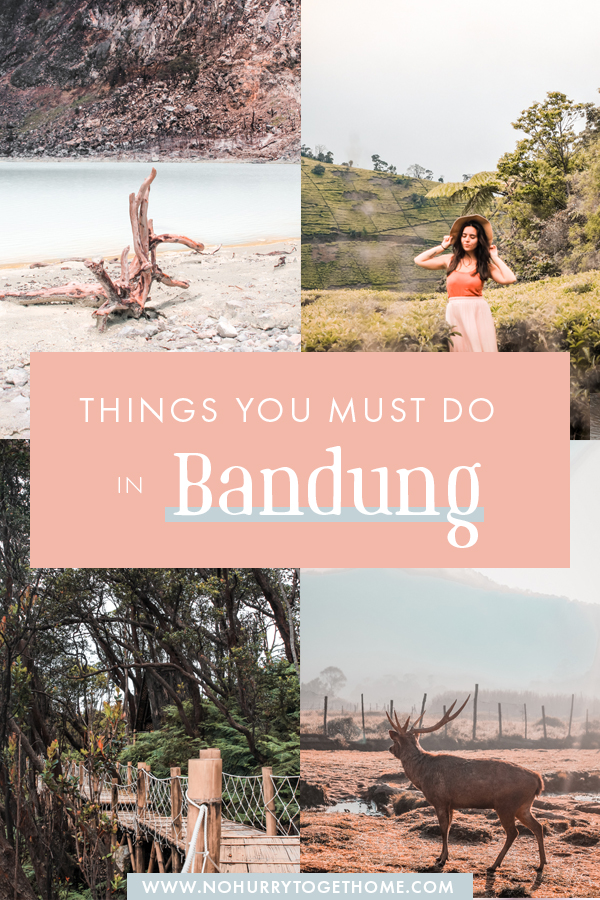 Wondering what to do in Bandung? From thrilling volcanoes, to fun nightlife, and endless natural outdoor activities, on this travel guide, I share all the best things to do in Bandung, Indonesia, that you ca't miss! #Bandung #Indonesia #Java