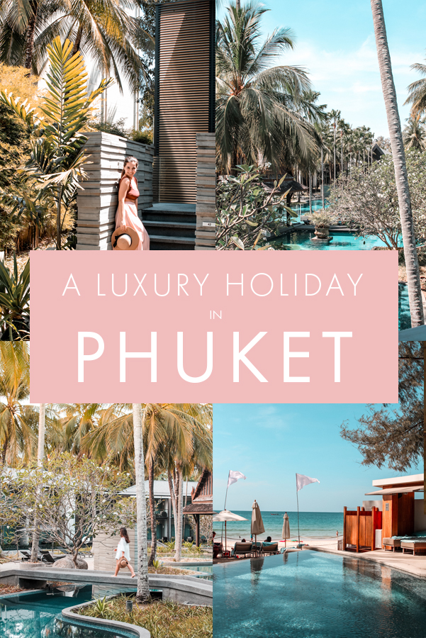 Looking to have a luxury holiday in Phuket, Thailand? Whether you're planning a romantic honeymoon or a girlfriends' getaway, this is the ultimate guide to the most luxurious resort in Phuket as well as the ultimate foodie guide to the top restaurants, beach clubs, and venues on Phuket Island in Thailand! #Phuket #Thailand