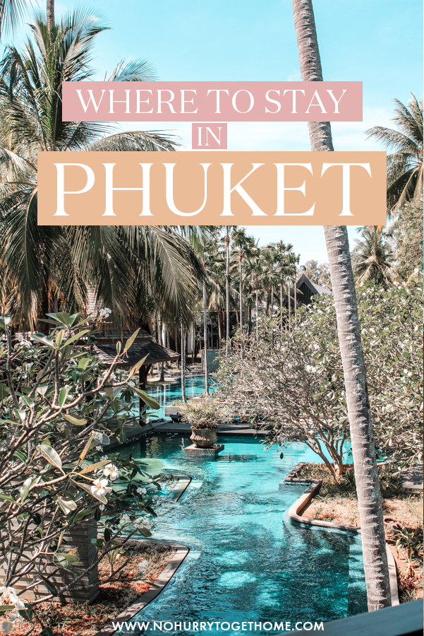 Wondering where to stay in Phuket, Thailand? If a luxury vacation is what you're after, this luxury resort is the ultimate boutique hotel to stay in Thailand for a romantic getaway or honeymoon! #Phuket #Thailand