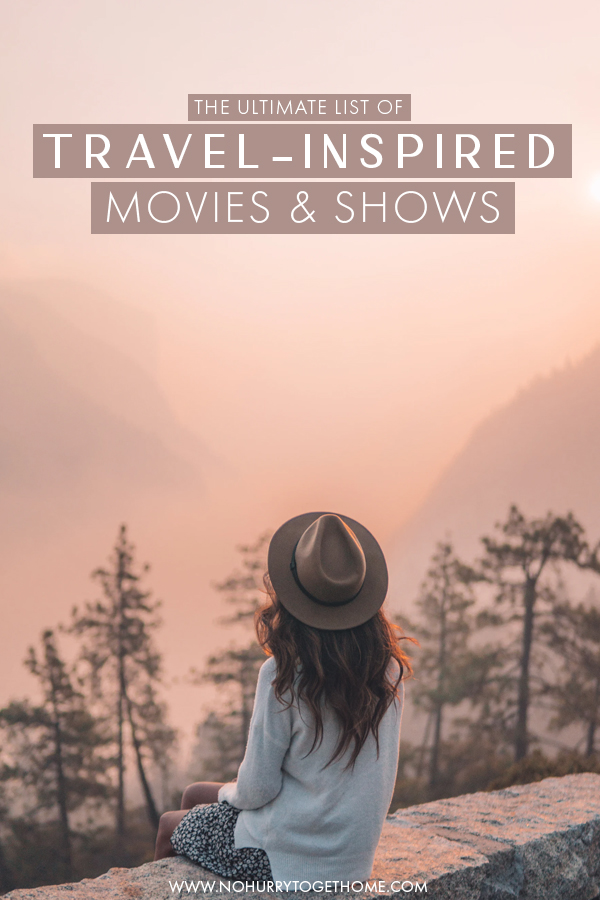 Stuck at home? If you're still dreaming of traveling the world and want to make it happen, here's a list of some of the best travel movies, shows, and documentaries to watch ti fuel your wanderlust and inspire you to travel the world from home. #Travel