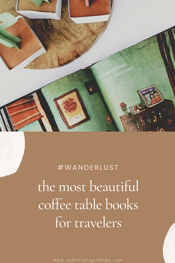 Looking for the most beautiful travel themed coffee table books? On this post, we share five of the most amazing photography books that will inspire you to travel, even from home! #Travel