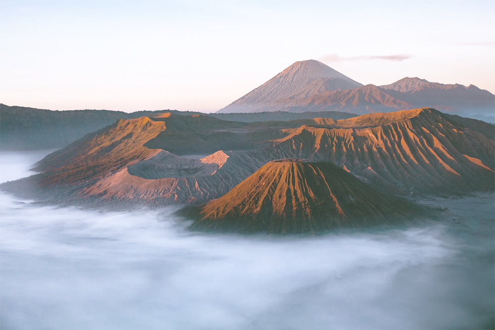 Mount Bromo, a can't miss stop on any Java backpacking itinerary!