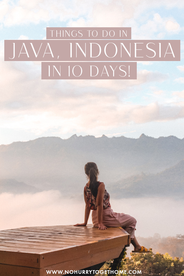Wondering what to do in Java, Indonesia? Java is full of amazing things to do and some of the best adventure activities Indonesia has to offer, so I decided to round up a list of the best cities, destinations, and things to do in Java for a perfect itinerary! #Java #Indonesia #Asia