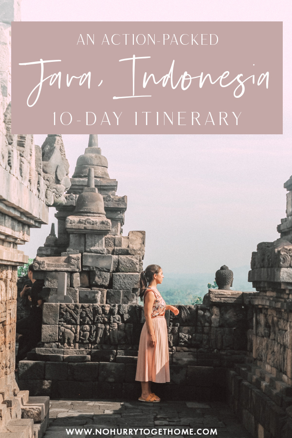 Backacking Java soon? The island of Java is one of the most adventure-packed destinations in Southeast Asia, so if you're currently planning to visit the largest island in Indonesia but you're not sure where to go or what to do, here's a perfect itinerary that you'll love! #Java #Indonesia #Asia