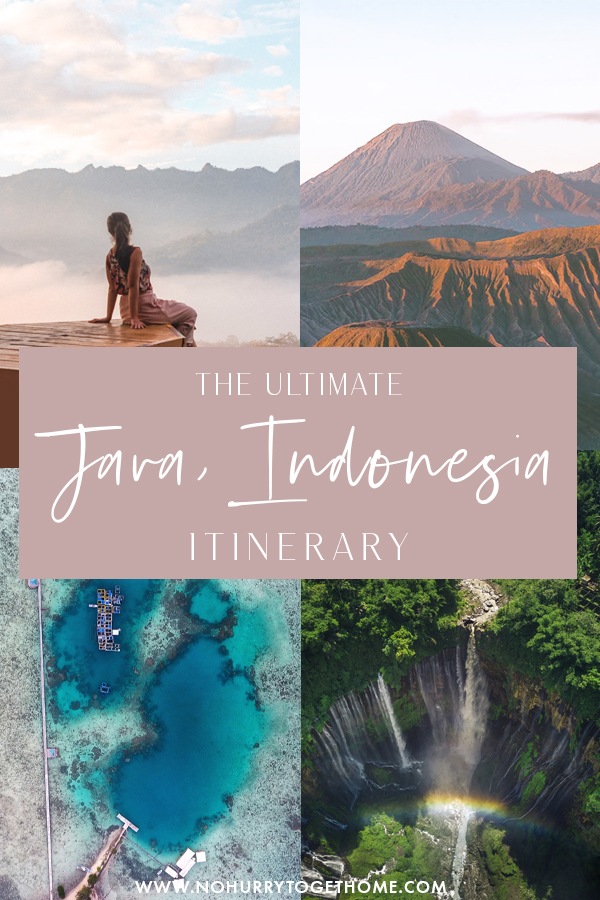 Java is one of the best destinations in Indonesia and Southeast Asia for adventure junkies, so if you're currently planning to backpack Java, here's the ultimate itinerary that includes volcanoes, famous sights, beaches, and insane-looking waterfalls and crater lakes! #Asia #Indonesia #Java