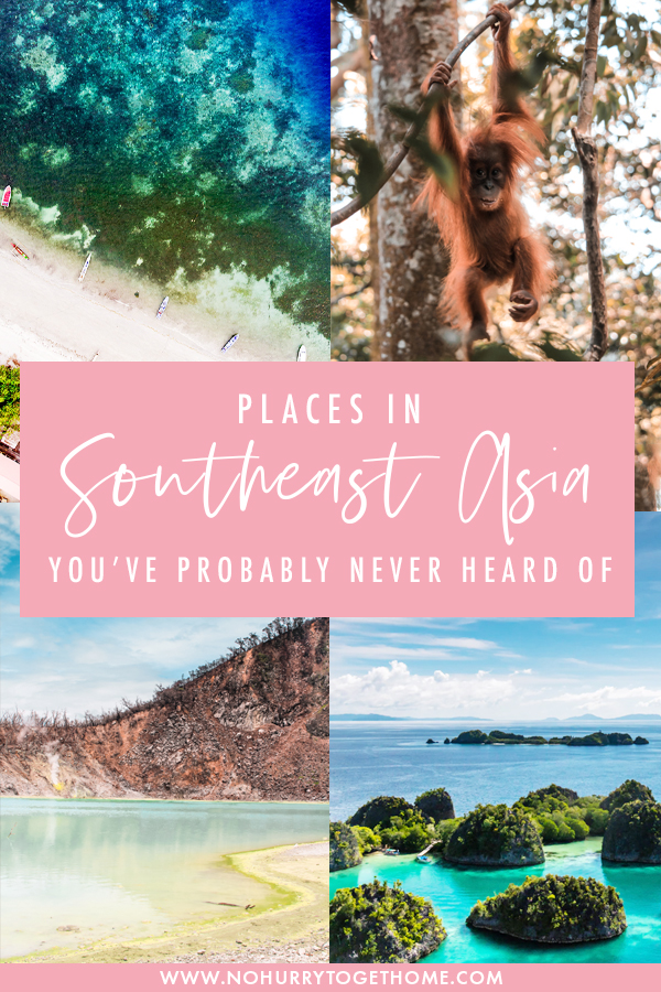 Every traveler dreams of exploring Southeast Asia, and while some of the popular spots like Chiang Mai and Hanoi are definitely worth visiting, there are so many underrated destinations in Southeast Asia that should be on your Southeast Asia itinerary! On this post, I share some of the best off the beaten path places in Southeast Asia that you have to visit! #Asia